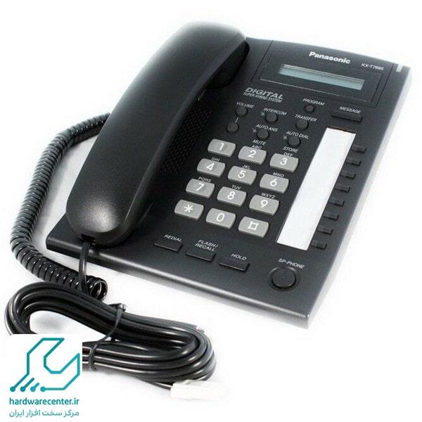 ذخیره کردن شماره در تلفن سانترال kx-t7665 پاناسونیک