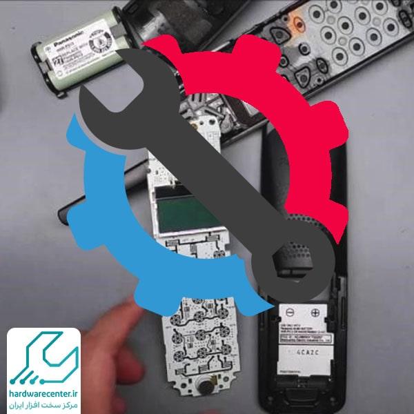 تعمیر صفحه کلید تلفن سانترال