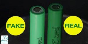 باتری تقلبی و اورجینال گوشی تلفن بی سیم