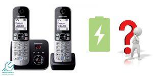 شارژ اولیه تلفن بی سیم
